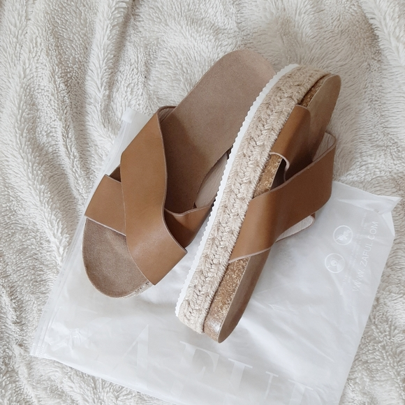 dress lily Shoes - Platform Espadrille Sandals